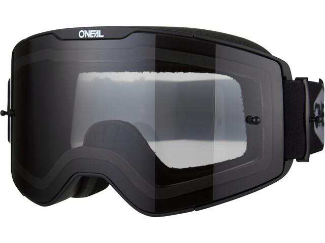 O'Neal B-20 Goggles Plain, black/white-gray
